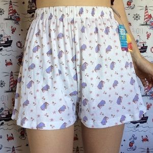 Disney Winnie The Pooh Eyore Sleep Shorts PJ's